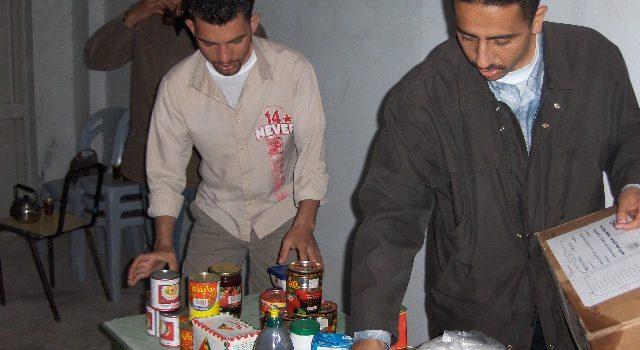 مشروع السلة الغذائية / منظمة سفينة السلام اليابانية
