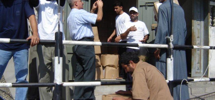 مشروع توزيع المستحضرات الصحية للعائلات الفقيرة في شمال غزة