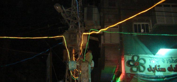 مشروع أضواء من الأمل في ليالي غزة الرمضانية