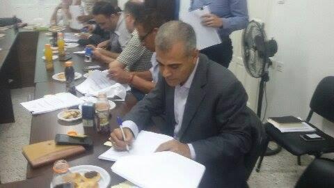 الحياة والأمل توقع على مشروع رؤية غزة (EG2020)