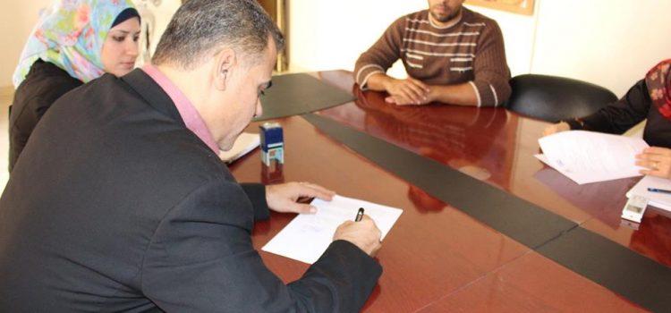 الحياة والأمل توقع اتفاقية مع مؤسسة العمل ضد الجوع ACF.