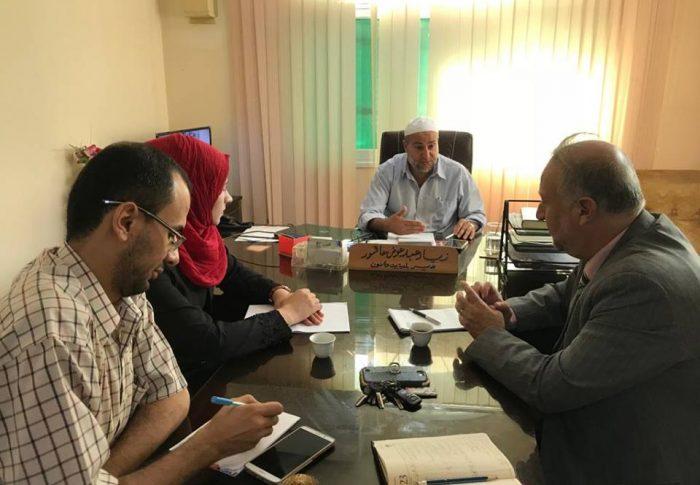الحياة والأمل تنظم زيارة لبلدية بيت حانون في إطار بحث سبل التعاون المشترك من أجل تطبيق أدوات المساءلة المجتمعية في البلدية.